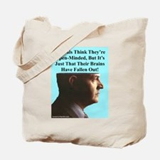 """""""Brains Fell Out"""" Tote Bag"""