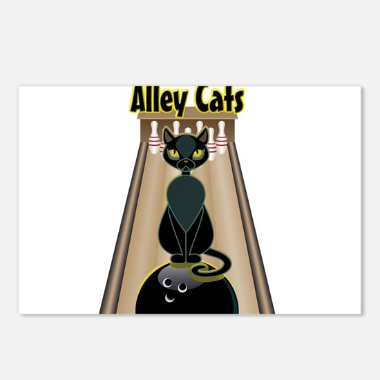 Unique Alley Postcards (Package of 8)