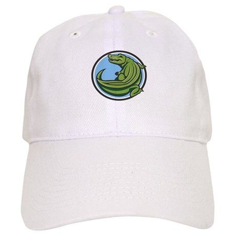 Crocodile Logo Cap