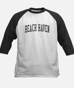 Beach Haven New Jersey NJ Black Tee