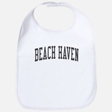 Beach Haven New Jersey NJ Black Bib