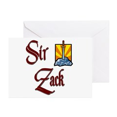Sir Zack Greeting Cards (Pk of 20)