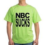 NBC Sucks Green T-Shirt