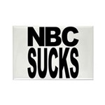 NBC Sucks Rectangle Magnet