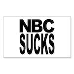 NBC Sucks Rectangle Sticker 50 pk)