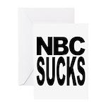 NBC Sucks Greeting Card