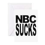 NBC Sucks Greeting Cards (Pk of 10)