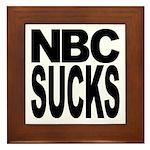 NBC Sucks Framed Tile