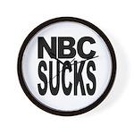 NBC Sucks Wall Clock