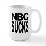 NBC Sucks Large Mug