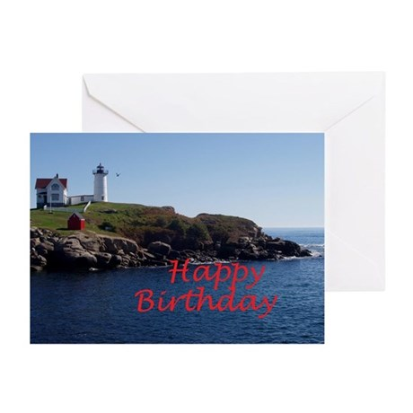 Nubble Lighthouse Greeting Cards (Pk of 10)