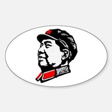 Chairman Mao Oval Decal