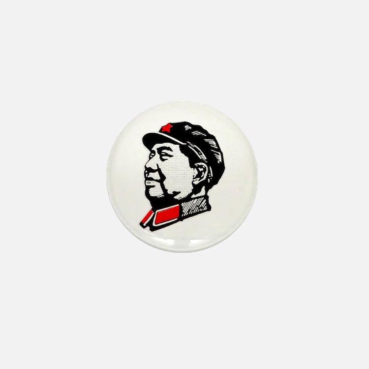 Chairman Mao Mini Button
