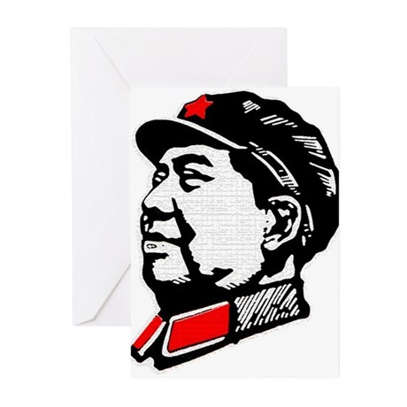 Chairman Mao Greeting Cards (Pk of 20)