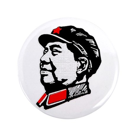 "Chairman Mao 3.5"" Button"