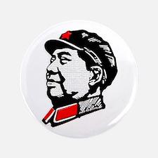 "Chairman Mao 3.5"" Button"