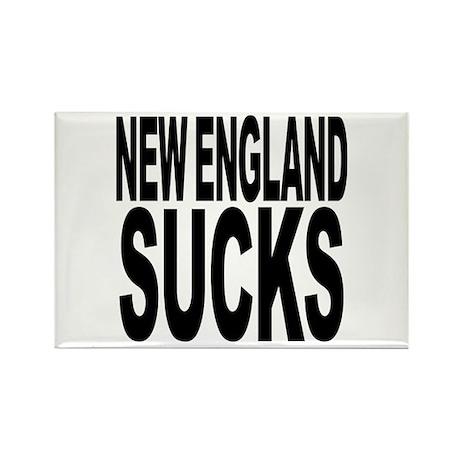 New England Sucks Rectangle Magnet