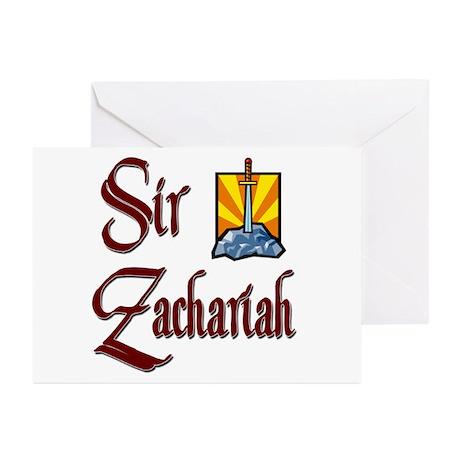 Sir Zachariah Greeting Cards (Pk of 10)