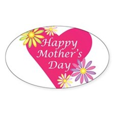 Gifts for a Happy Mother's Da Oval Sticker (10 pk)