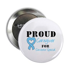 "Caregiver Prostate Cancer 2.25"" Button (10 pa"