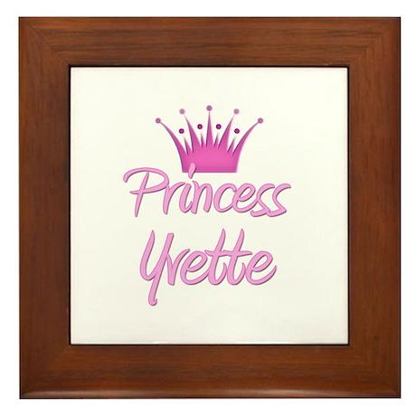 Princess Yvette Framed Tile