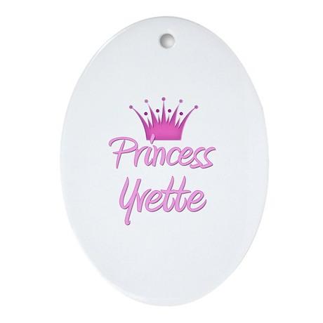 Princess Yvette Oval Ornament