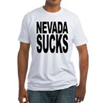 Nevada Sucks Fitted T-Shirt