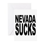 Nevada Sucks Greeting Cards (Pk of 20)