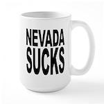 Nevada Sucks Large Mug