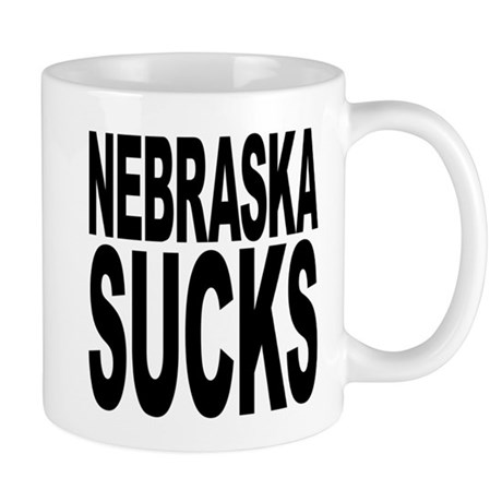 Nebraska Sucks Mug