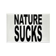 Nature Sucks Rectangle Magnet