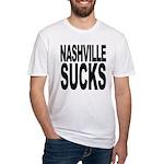 Nashville Sucks Fitted T-Shirt