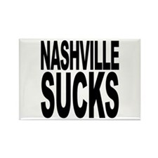Nashville Sucks Rectangle Magnet