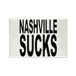 Nashville Sucks Rectangle Magnet (100 pack)