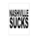 Nashville Sucks Mini Poster Print