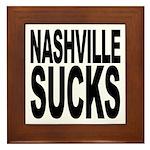 Nashville Sucks Framed Tile