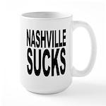 Nashville Sucks Large Mug