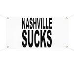 Nashville Sucks Banner