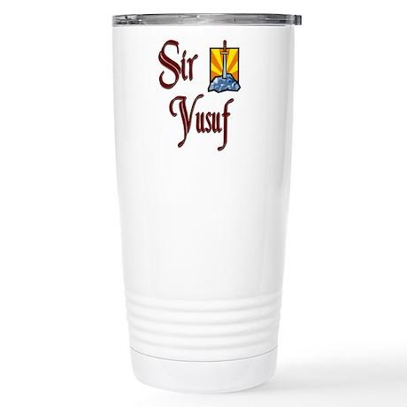 Sir Yusuf Stainless Steel Travel Mug