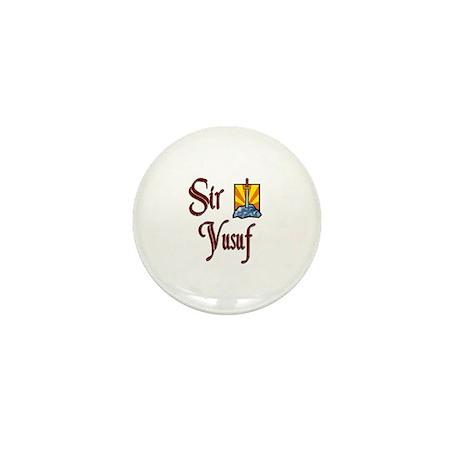 Sir Yusuf Mini Button