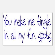 Make me Tingle Postcards (Package of 8)