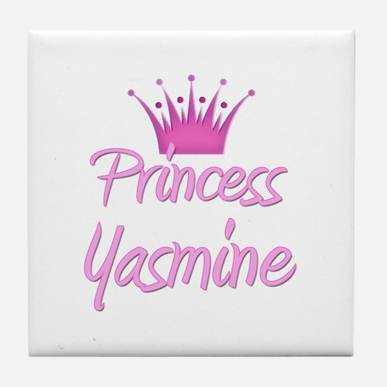 Princess Yasmine Tile Coaster