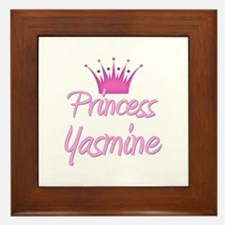 Princess Yasmine Framed Tile