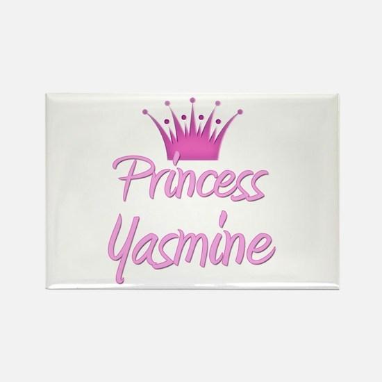 Princess Yasmine Rectangle Magnet