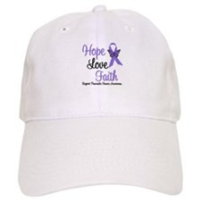 Hope Faith Pancreatic Cancer Baseball Cap