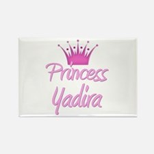 Princess Yadira Rectangle Magnet