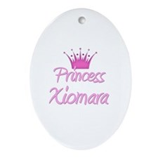 Princess Xiomara Oval Ornament