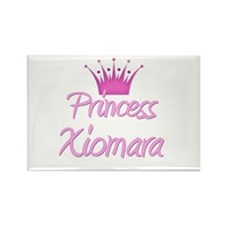 Princess Xiomara Rectangle Magnet