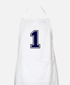 NUMBER 1 FRONT BBQ Apron