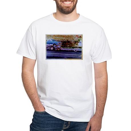 White T-Shirt -- David Design #4